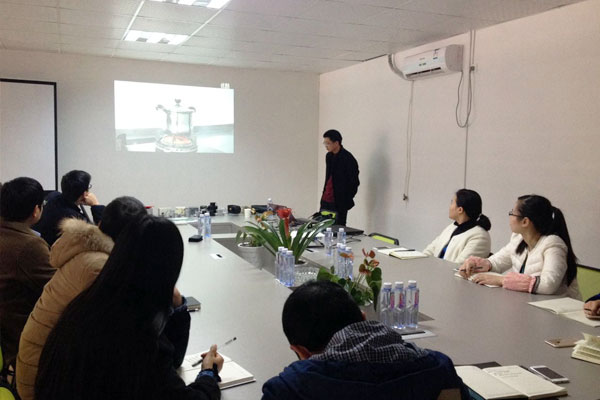 HaoDong integrated department to carry out fire control safety knowledge training